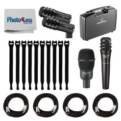 Audio-Technica PRO-DRUM4 Pro Series Drum Microphone Set (4-Piece)