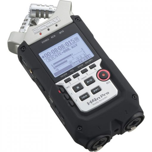 Zoom H4n Pro Handy Recorder + Accessories