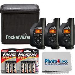 PocketWizard Plus III Bonus Bundle + Accessories