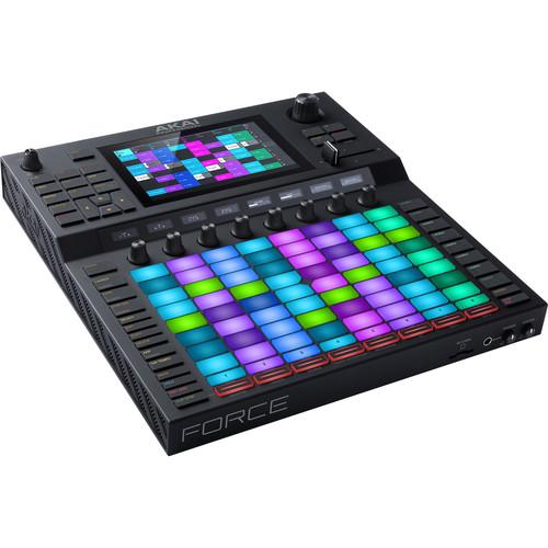 Akai Professional Force – Standalone Music Production/DJ Performance System