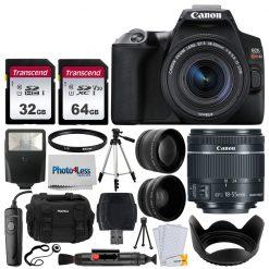 Canon EOS Rebel SL3 Camera (BK) + EF-S 18-55mm Lens Kit