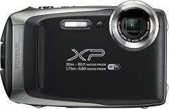Fujifilm FinePix XP130 Waterproof Digital Camera Silver+ 16GB SD Card