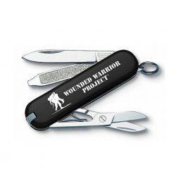 """Victorinox Swiss Army Classic SD, Black, with WWP logo Black"