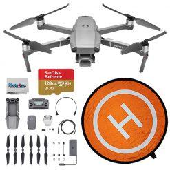 DJI Mavic 2 Pro Drone Quadcopter + Landing Pad + 128GB Card - Top Value Bundle