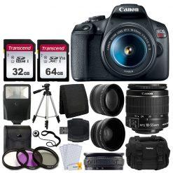 Canon EOS Rebel T7 Camera + 18-55mm Lens + Accessories