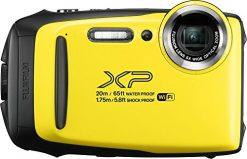 Fujifilm FinePix XP130 Waterproof Digital Camera w/16GB SD Card - Yellow