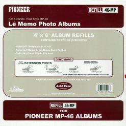Pioneer Memo Pocket Album Refill For MP46 Album (46MP)