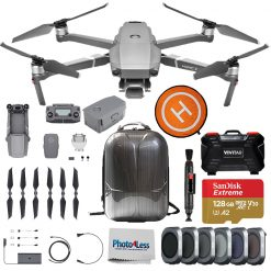 DJI Mavic 2 Pro Drone Quadcopter + Battery + Landing Pad + Accessory Bundle