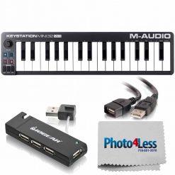 M-Audio Keystation Mini 32 MK3 Ultra-Portable Mini USB MIDI Keyboard Controller