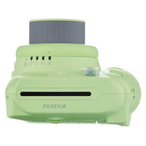 Fujifilm instax mini 9 Instant Film Camera (Lime Green) - Fujifilm Instax Mini Twin Pack Instant Film (60 Shots) + Compact Camera Case + AA Batteries + Cloth - International Version (No Warranty)