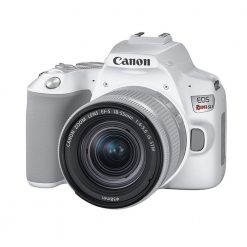 Canon EOS Rebel SL3 Camera (White) + EF-S18-55mm f/4-5.6 is STM