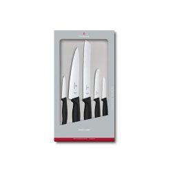 Victorinox Swiss Classic Kitchen Set, 5 Pieces, Black
