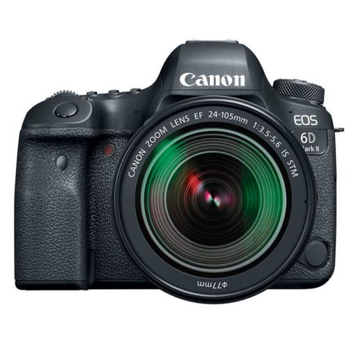 Canon EOS 6D Mark II EF 24-105mm IS STM Kit with 3 LCD