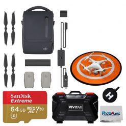 DJI Mavic 2 Fly More Kit + SD card + Landing Pad Accessory Bundle