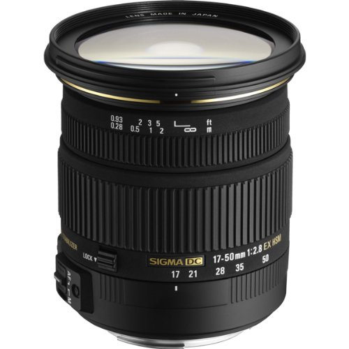 Sigma 17-50mm f/2.8 EX DC OS HSM Lens for Nikon F