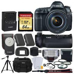 Canon EOS 5D Mark IV DSLR Camera + EF 24-105mm USM Lens Kit