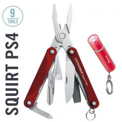 Leatherman  SQUIRT® PS4 831189 RED    (BOX)
