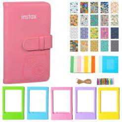 Fujifilm Instax Wallet Album (flamingo Pink) Kit