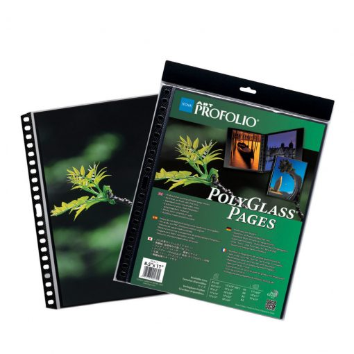 Itoya ProFolio PolyGlass Pages 9″x12″ 10 sheets