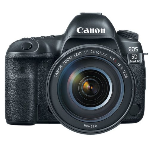 Canon EOS 5D Mark IV DSLR Camera + EF 24-105mm USM Lens + Acc.