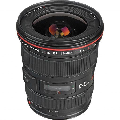 Canon Zoom Wide Angle EF 17-40mm f/4L USM Autofocus Lens