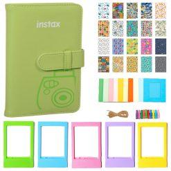 Fujifilm Instax Wallet Album - Lime Green  Kit