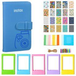 Fujifilm Instax Wallet Album (cobalt Blue)  Kit