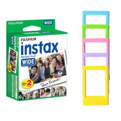 Fujifilm Instax Wide Instant Film Twin Pack + Frames