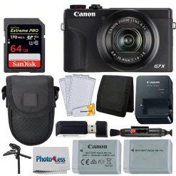 Canon PowerShot G7 X Mark III Digital Camera (Black) Bundle