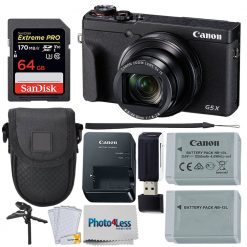 Canon PowerShot G5 X Mark II Digital Camera Bundle