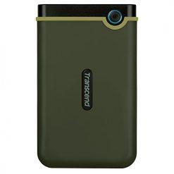 Transcend Information 2 TB StoreJet M3 USB 3.0 Slim External Hard Drive, Military Green (TS2TSJ25M3G)