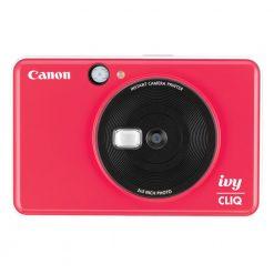 Canon Ivy CLIQ Instant Camera Printer Mobile Mini Printe, Ladybug Red