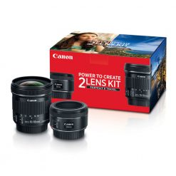 Canon Portrait & Travel 2 Lens Kit with 50mm f/1.8 and 10-18mm f/4.5-5.6 Lenses