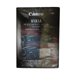 Canon Vixia HFR72 HFR70 HFR700 Instuctional DVD