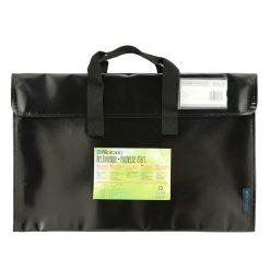 Itoya Art ProFolio ArtEnvelope Pro 12.5″ x 19″- Gloss Black-BK-12