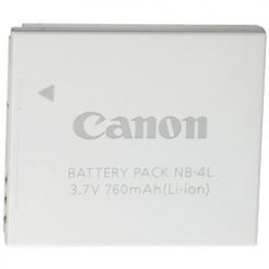 Canon NB-4L Lithium-Ion Battery Pack from Bulk Packaging