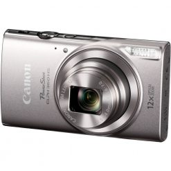 Canon PowerShot ELPH 360 HS (Silver) with 12x Optical Zoom and Built-In Wi-Fi