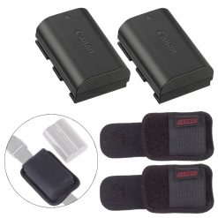 Canon Battery Pack LP-E6N and Battery Holster Bundle