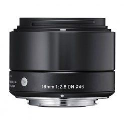 Sigma 19mm F2.8 EX DN Art (Black) for Micro 4/3(40B963)