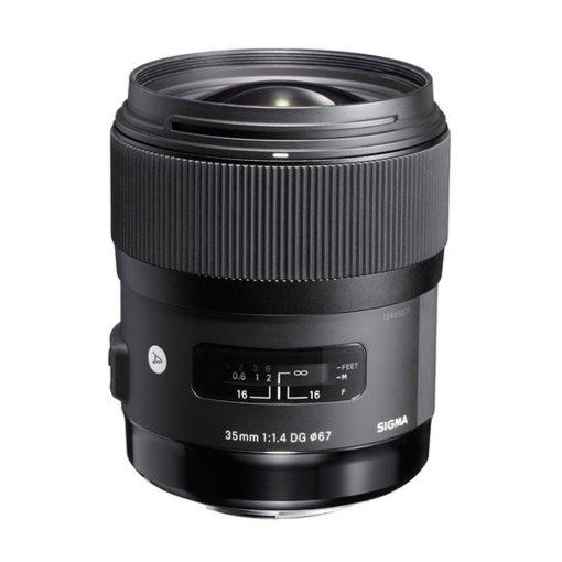 Sigma 35mm f/1.4 DG HSM Art Lens for Nikon DSLR Cameras (340306)