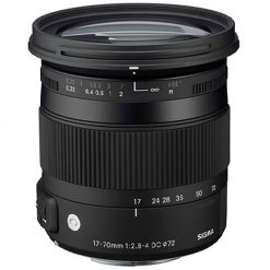 Sigma 884101 17-70mm F2.8-4 Contemporary DC Macro OS HSM Lens For canon