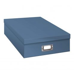 Pioneer Photo Album Scrapbook Storage Box, Sky Blue