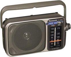 Panasonic RF-2400D AM / FM Radio, Silver