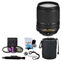 Nikon 18-140mm VR AF-S DX NIKKOR Zoom Lens Top Value Bundle