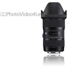 Sigma 210306 18-35mm F1.8 DC HSM Lens for Nikon APS-C DSLRs (Black)