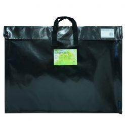 """Itoya Art ProFolio ArtEnvelope Pro 23"""" x 31"""" Gloss Black-BK-6"""