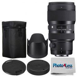 Sigma 50-100mm F1.8 Art DC HSM Lens for Nikon F + Manufacturer Acc + Cloth