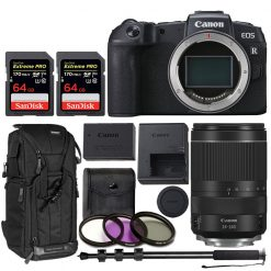 Canon EOS RP Mirrorless Digital Camera with 24-240mm Lens Bundle