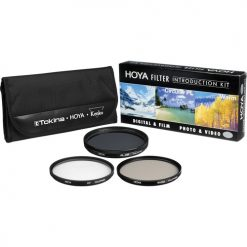 Hoya 28mm Introductory Filter Kit, UV, Circular Polarizer, 81A and Filter Wallet