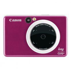 Canon IVY CLIQ+ Instant Camera Printer Mobile Mini Printer Via Bluetooth(R), Ruby Red